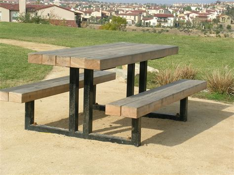 steel picnic table picnic tables park bench frames outdoor grills