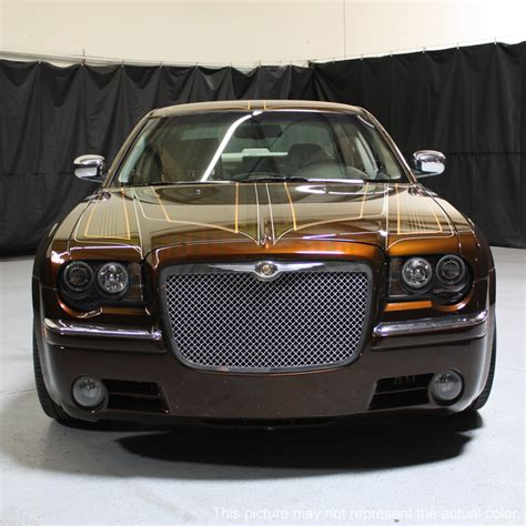 Halo Headlights For Chrysler 300 by 05 10 Chrysler 300c Dual Halo Led Projector Headlights