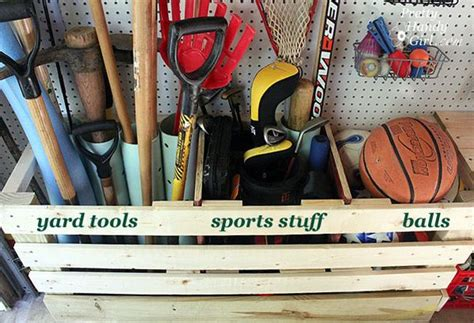 Garage Sports Storage Ideas Time To Sort Out The Mess 20 Tips For A Well Organized
