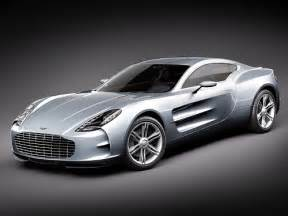 Aston Martin One 77 Silver Aston Martin One 77 World Of Cars