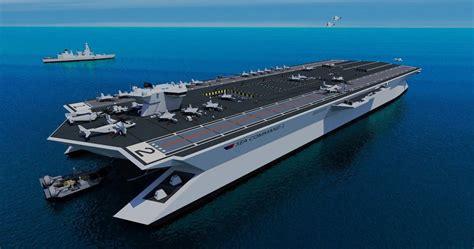 trimaran aircraft carrier trimaran aircraft carrier