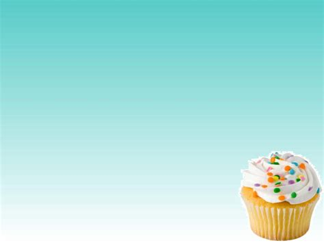 Free Cupcakes Backgrounds For Powerpoint Border And Frame Ppt Templates Cupcake Powerpoint Template