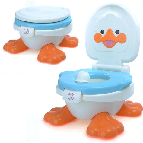 Potty Stool For Toddler by Babyhugs 3 In 1 Duck Children Toddler Potty Toilet Step Stool Seat Ebay