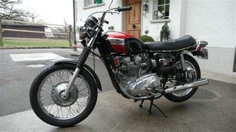 1974 triumph trident t150 classic motorcycle pictures