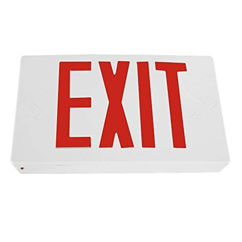 exit sign light combo etoplighting led exit sign emergency light lighting