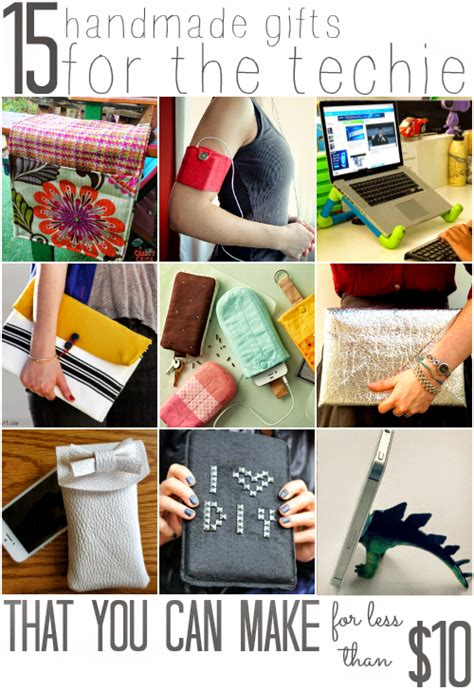 popular holiday gifts for techies all cheap crafts 15 handmade gifts for the techie