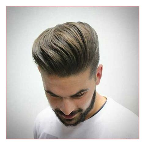 hairstyles for casual date best haircut for men with thin hair and casual pompadour
