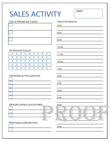 sales log sheet template sales activity tracker daily planner cold call tracker