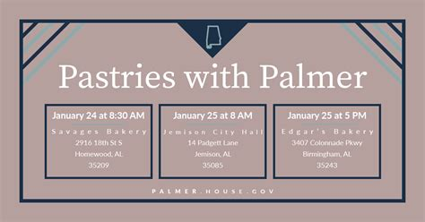 mail house gov palmer to host pastries with palmer congressman gary palmer