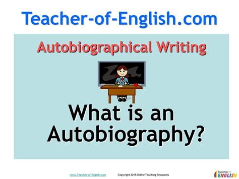 biography writing ks2 ppt autobiography teaching resources powerpoint lessons