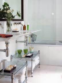 creative ideas for small bathrooms creative storage idea for a small bathroom