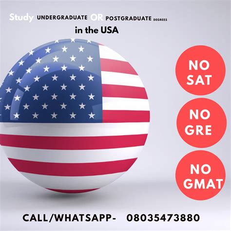 Mba No Gre Gmat by Stella Dimoko Korkus Study In The Usa No Sat No Gre