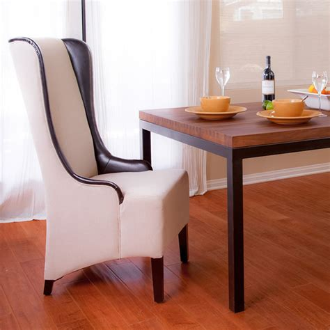 tall dining room chairs howard beige tall dining chair modern dining room