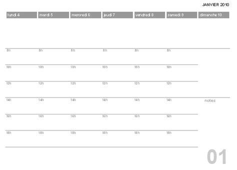 Calendrier 2018 Par Semaine Calendrier Semaine Printable 2018 Calendar Free
