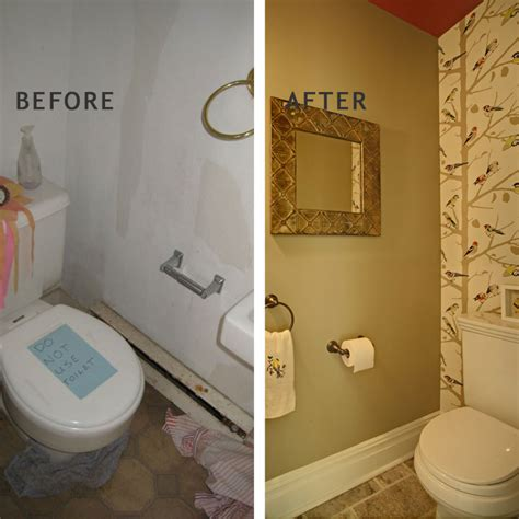 powder room remodels eclectic powder room decorating bathroom design by tracey