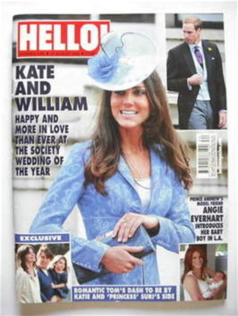 Kate In Magazine I Am A Bit Wacky by Hello Magazine Kate Middleton Cover 24 August 2009