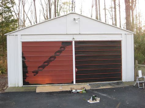 Painting A Garage Door Is Easy And Affordable Here S How Paint Aluminum Garage Door