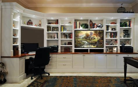 built in wall unit with desk and tv home design wall unit with space for electronics tv