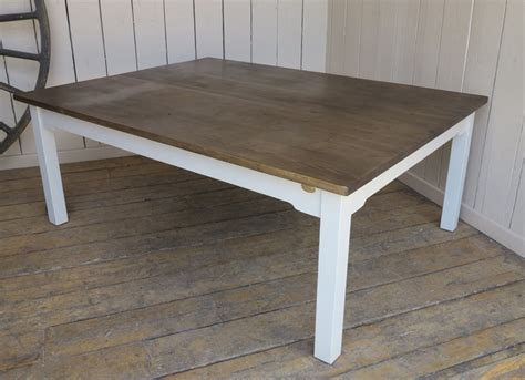 large wooden kitchen table bepsoke wooden large plank top kitchen farmhouse table
