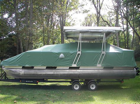 pontoon boat mooring covers with snaps canvas boat covers rogers marine upholstery picture gallery