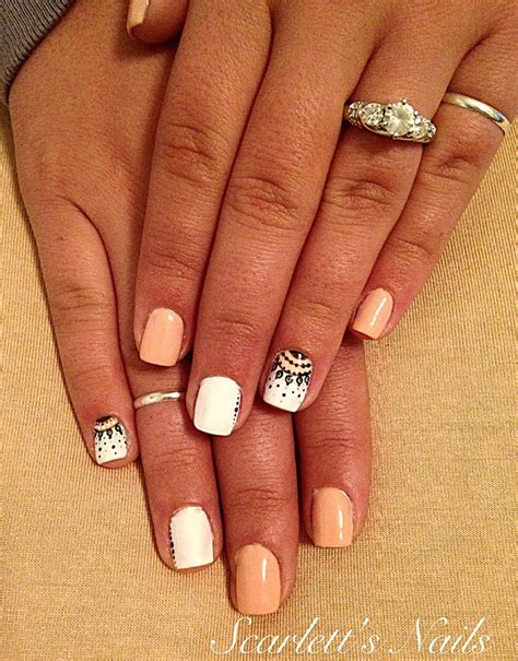 shellac pattern nails best 25 summer shellac designs ideas on pinterest