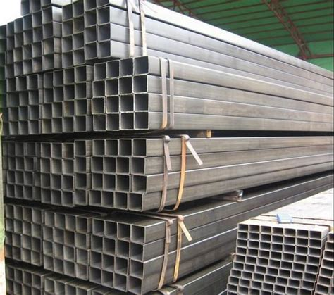 steel hollow section properties square and rectangle steel pipe bs09359 china