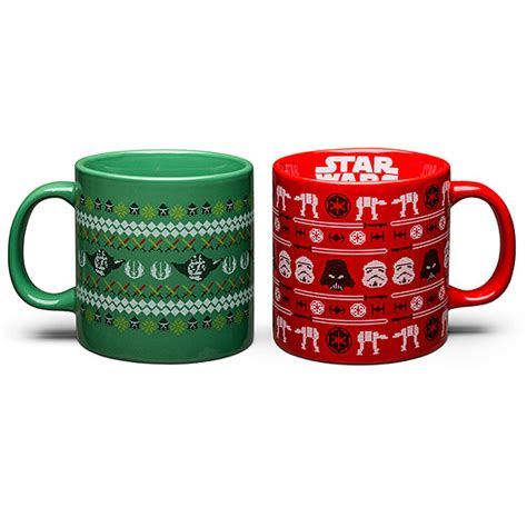 Star Wars Ugly Sweater Mugs   ThinkGeek