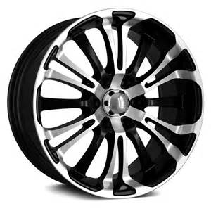Black Machined Truck Wheels Hd 174 Spinout Truck Wheels Gloss Black With Machined Rims