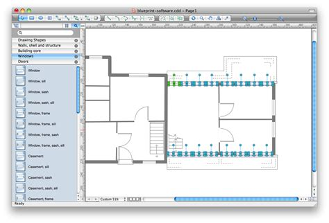 Blueprint Drawing Software | blueprint software how to use house plan software how
