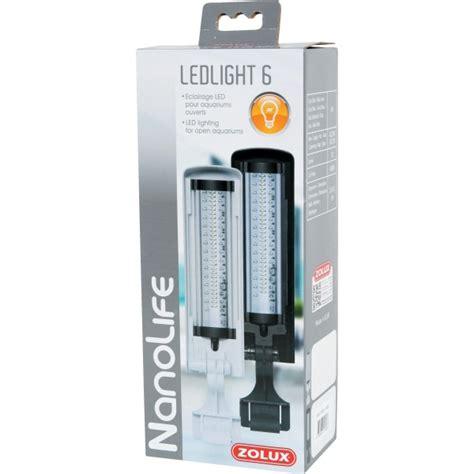 zolux nanolife ledlight 6w blanc 233 clairage leds puissant pour nano aquarium les et spots
