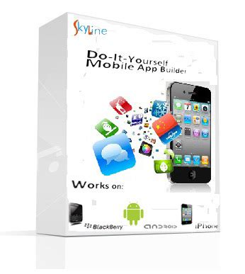 mobile app creator skyline personal mobile app maker free and
