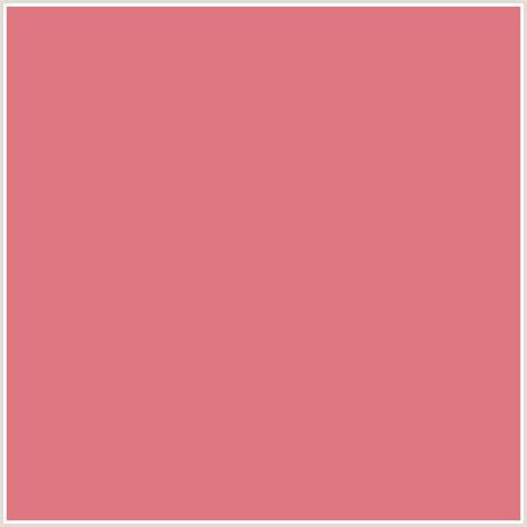 blush color code df7782 hex color rgb 223 119 130 blush