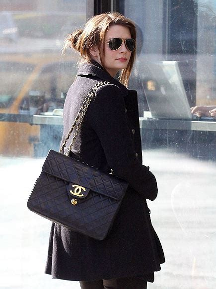 Mischa Barton In Chanel by Mischa Barton And A Chanel Purse Mischa Barton