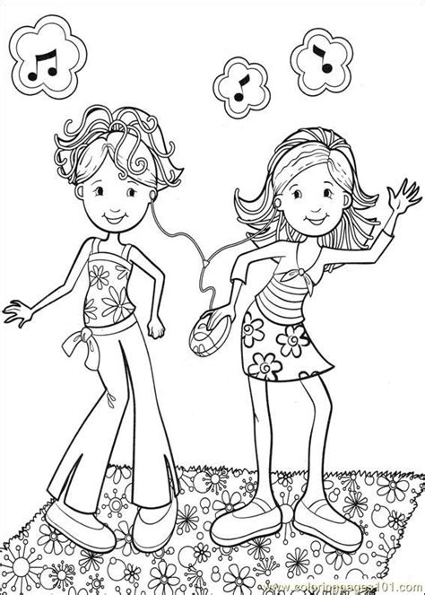 Coloring Pages Groovy Girls 52 Cartoons Gt Groovy Girls Groovy Coloring Pages