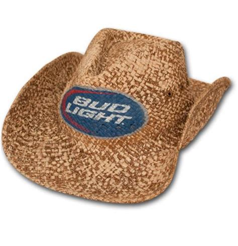 bud light cowboy hat budweiser bud light straw cowboy hat for only chf 28 45 at