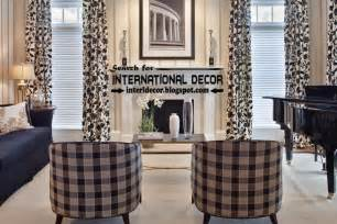 black and white living room curtains top trends living room curtain styles colors and materials