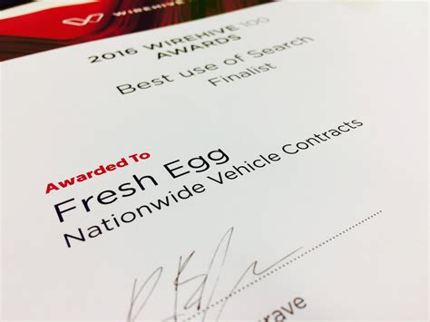 Best Also Search For Fresh Egg Ranks Second In The Wirehive 100 League Table For A Second Year In A Row