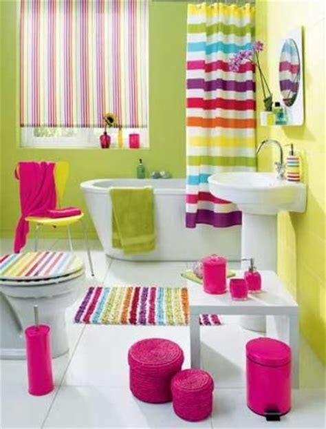 bright colored bathroom decor top lively rainbow decor ideas that will cheer you up