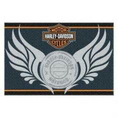 Harley Davidson Curtains And Rugs by Harley Davidson 174 Tufted Rug 1hdm331000013