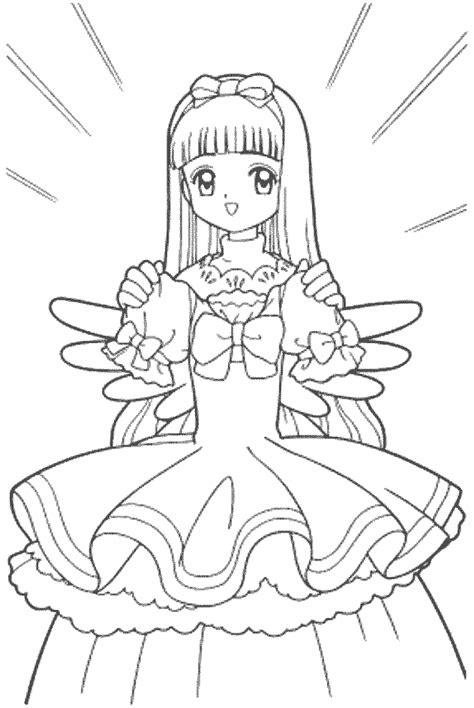 coloring pages of beautiful dresses beautiful dress sakura coloring pages gt gt disney coloring pages