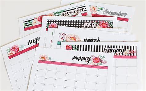 Blooming Homestead 2017 Calendar