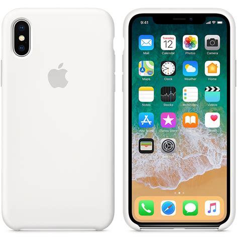 apple coque en silicone blanc apple iphone x etui t 233 l 233 phone apple sur ldlc