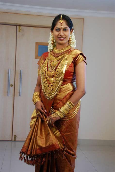 on pinterest saree blouse south indian bride and bridal sarees kerala bride moggina jade jadai pelli jada