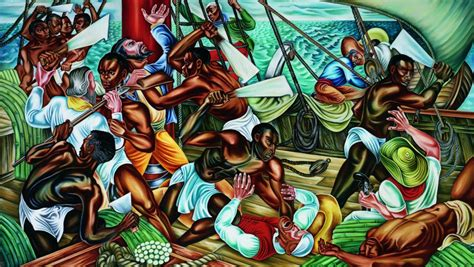Tupac Wall Mural 5 slave ship uprisings other than amistad