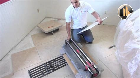 How To Cut Ceramic Floor Tile by How To Cut Tile And Install Properly Ceramic Tile Wesley