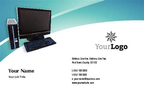 computer technician business card template computer technicians business card printing