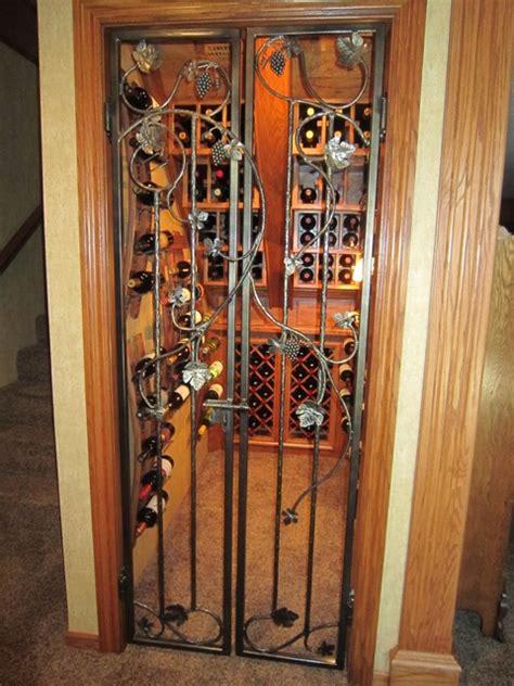 Iron Interior Doors My Iron Wine Cellar Door Creations Traditional Interior Doors Other Metro By Leo S