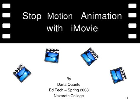 tutorial imovie stop motion stop motion animation with imovie