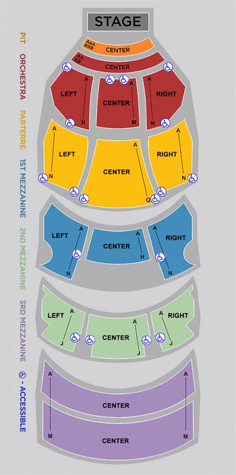 dolby theater seating chart seating charts 187 dolby theatre