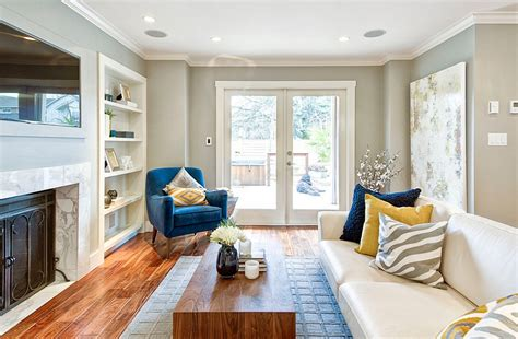 11 living rooms with modern flair yellow and blue interiors living rooms bedrooms kitchens